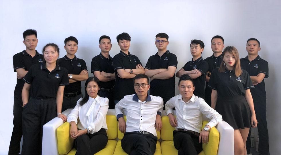 昱元科技销售团队