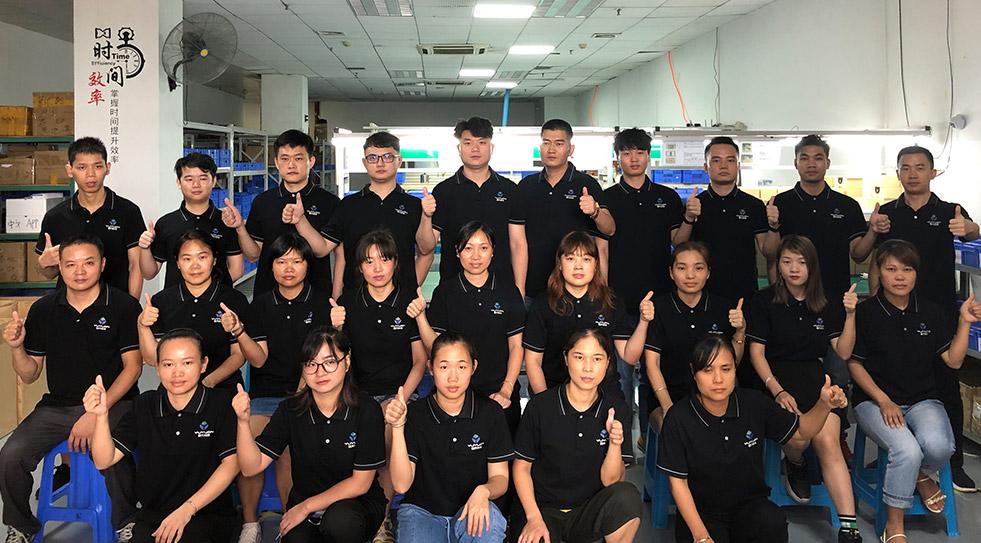 昱元科技生产团队